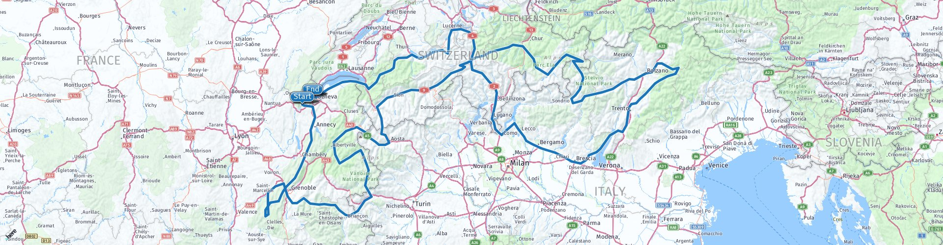 Provisional Alps Plan – MyRoute-app: The #1 all-in-one route