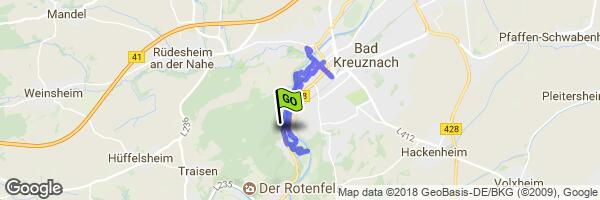 2018 - 23 APR Bad Kreuznach gpx – MyRoute-app: The #1 all-in